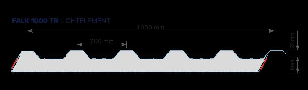 FALK Lichtelement 1000 TR