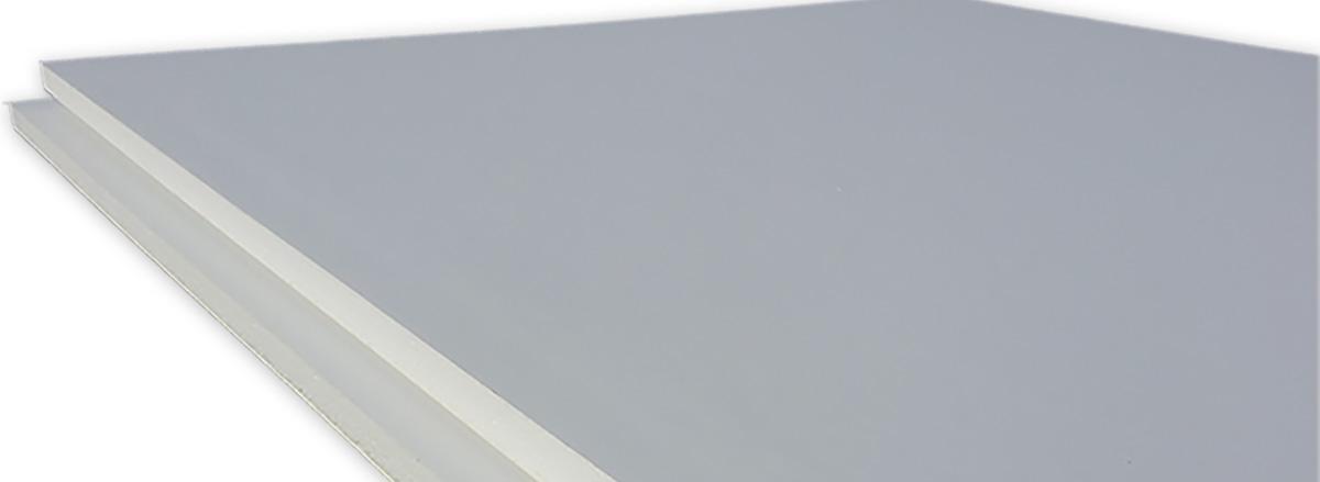 Kanalbauplatte PS PVC