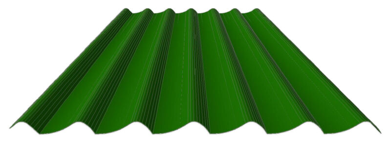 Stahl-Dachpfannenprofil
