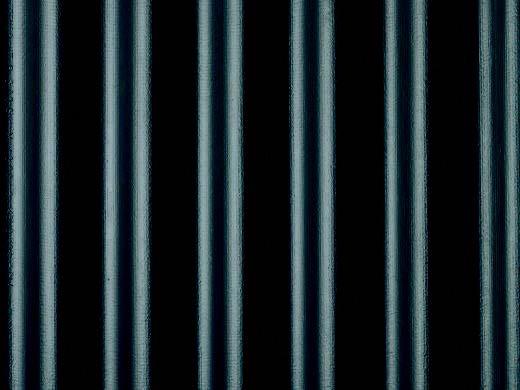 Wellfaserzementplatte, dunkelblau